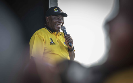 FILE: ANC President Cyril Ramaphosa speaking to the community of Seshego in Polokwane, Limpopo. Picture: Abigail Javier/EWN