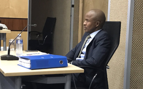 Senior Sars official Luther Lebelo at the Nugent commission of inquiry on 27 September 2018. Picture: Barry Bateman/EWN