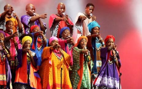 The Soweto Gospel Choir. Picture: AFP