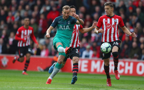 Tottenham's Harry Kane in action during their Premier League match against Southampton. Picture: @SpursOfficial/Twitter.