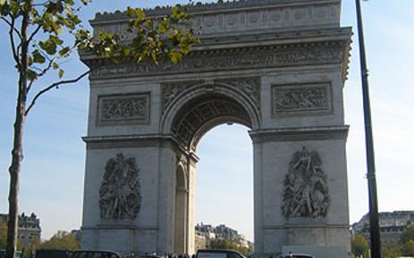 FILE: Champs-Elysees in Paris. Picture: Sheldon Morais/EWN