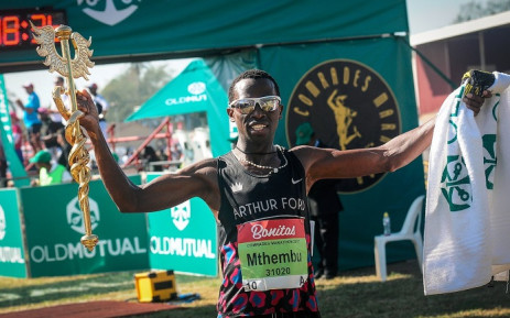 FILE: Bongumusa Mthembu. Picture: Comrades Marathon