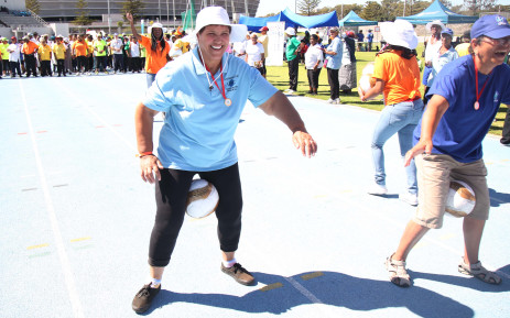 FILE: Hundreds of elderly people packed Green Point track to participate in the older person's games. Picture: Bertram Malgas/EWN