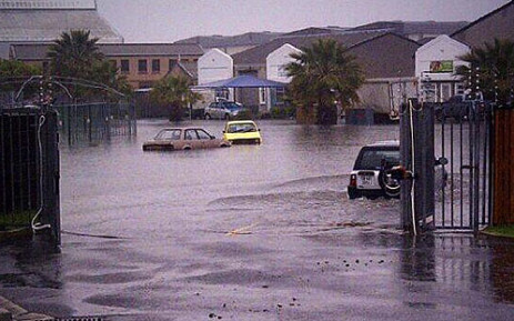 FILE: Roads flooded due to heavy rains in Cape Town. Picture: iWitness