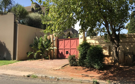 On of the properties in Bedfordview, Johannesburg that was raided by the Hawks on 14 February 2018. Picture: EWN