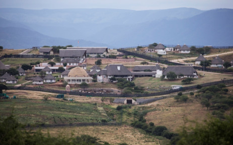 A view of the homestead of South African President Jacob Zuma in Nkandla in January 2014. Picture: AFP.