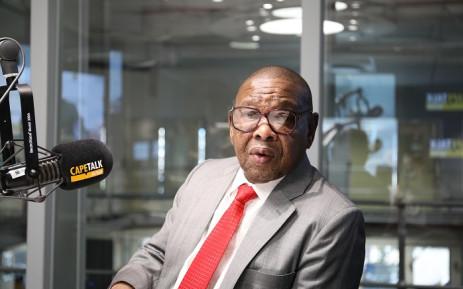 Higher Education Minister Blade Nzimande. Picture: CapeTalk.