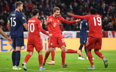 Bayern Munich beat Tottenham Hotspur in Champions League Group B match on 11 December 2019. Picture: @ChampionsLeague/Twitter.