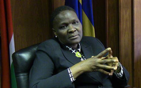 National Police Commissioner General Riah Phiyega. Picture: Christa Eybers/EWN.