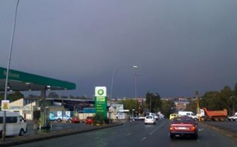 FILE: Thunderstorm passes through the northern suburbs in Johannesburg. Picture: Dewet Meyer/iWitness