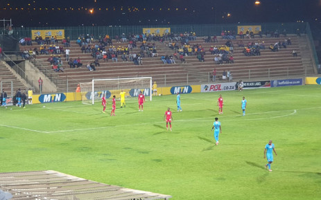 Highland Park and Polokwane City contest their MTN8 second leg semifinal match on 17 September 2019. Picture: @MTN8/Twitter