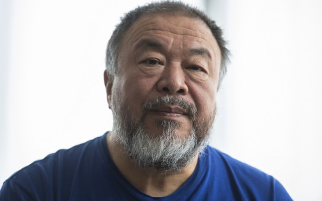 Berlin-based Chinese dissident artist Ai Weiwei speaks to AFP reporters in Berlin on 15 August 2019. Picture: AFP