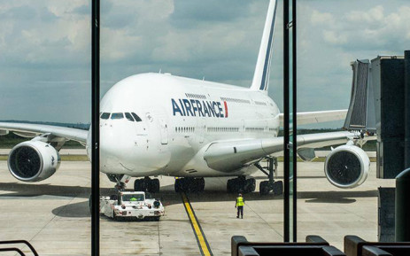 An Air France plane. Picture: Facebook.