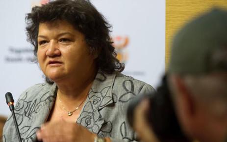 Public Enterprises Minister Lynne Brown. Picture: GCIS.