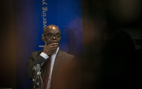 FILE: Eskom group chief executive Phakamani Hadebe briefs the media on 19 March 2019. Picture: Sethembiso Zulu/EWN