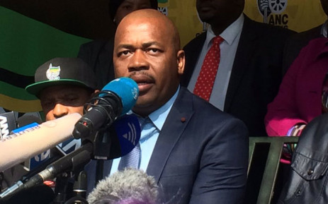 Newly elected Mayor of Ekurhuleni Mzwandile Masina. Picture: @GautengANC.
