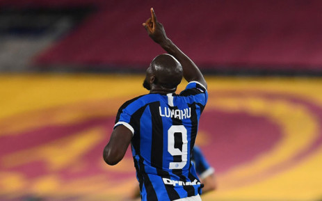 FILE: Inter Milan's Romelu Lukaku celebrates his goal. Picture: @Inter_en/Twitter