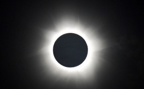 FILE: A solar eclipse. Picture: AFP