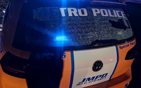 A JMPD officer was in a serious, but stable, condition following a shootout in Turffontein on Tuesday night, 2 June 2020. Picture: @JoburgMPD/Twitter.