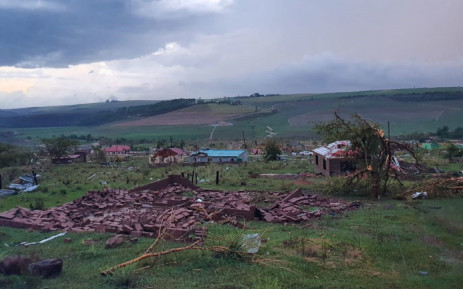 FILE: The aftermath of a severe storm in Mpolweni in KwaZulu-Natal on 13 November 2019. Picture: Supplied