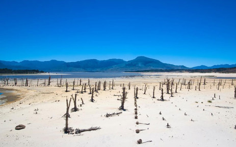 Theewaterskloof Dam. Picture: Johnny Miller/Code for Africa.