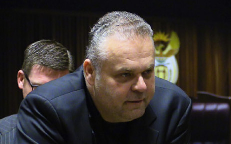 FILE: Czech fugitive Radovan Krejcir at the Palm Ridge Magistrates Court during his bail hearing on 4 December 2013. Picture: Christa Van der Walt/EWN.