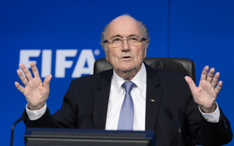 FILE: Sepp Blatter. Picture: AFP.