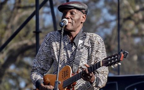 Zimbabwean musician Oliver Mtukudzi. Picture: @CityofJoburgZA/Twitter.