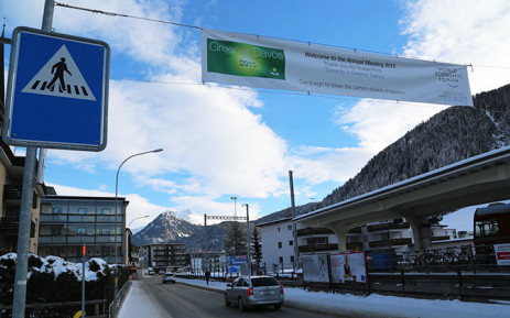 Thousands of leaders from several spheres including business, government, academia and civil society have gathered in Davos, Switzerland for the 45th annual World Economic Forum. Picture: Reinart Toerien/EWN.