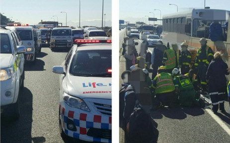 More than 20 people were injured in a crash involving two buses on the N2 Highway. Picture: Lima charlie1/Supplied.