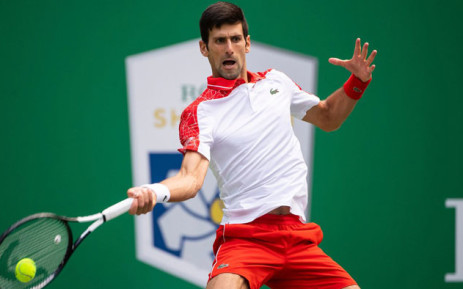 Novak Djokovic in action. Picture: @ATPWorldTour/Twitter