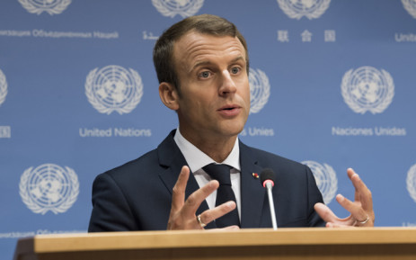 FILE: Emmanuel Macron, President of France. Picture: United Nations Photo