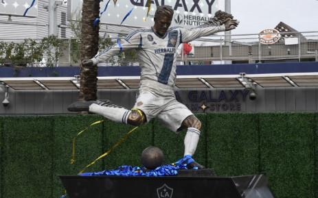 David Beckham: LA Galaxy unveil statue before MLS season opener