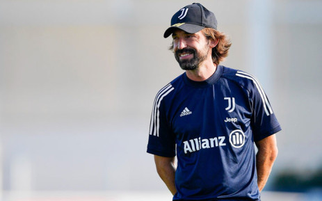Andrea Pirlo, the head coach of Juventus. Picture: @juventusfc/Twitter