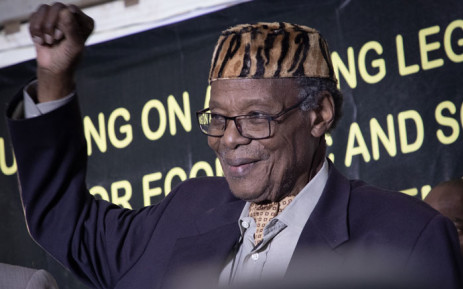 Outgoing IFP leader Mangosuthu Buthelezi. Picture: Xanderleigh Dookey/EWN.
