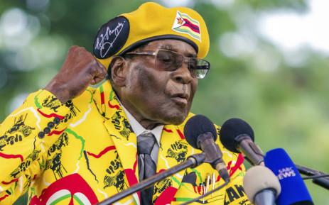 FILE: Zimbabwe's former President Robert Mugabe. Picture: AFP