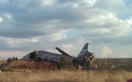 FILE: Two people were killed when a chartered plane went down near Wonderboom Airport, north of Pretoria. Picture: Supplied.