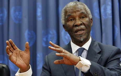 FILE: Former President Thabo Mbeki. Picture: United Nations Photo