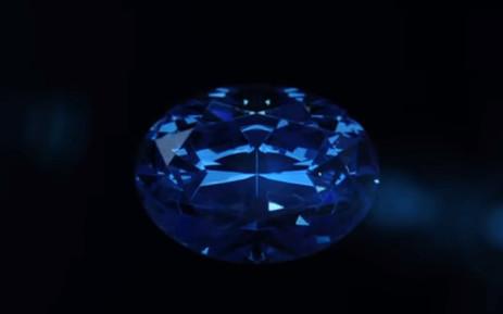 The Okavango Blue. Picture: Okavango Diamond Company/YouTube