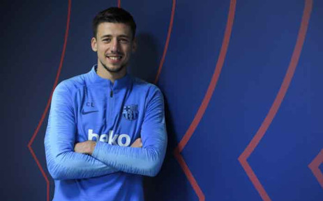 Barcelona's French defender Clement Lenglet poses during an interview with AFP at the Barcelona Joan Gamper sports centre in Sant Joan Despi near Barcelona on 13 February 2019. Picture: AFP