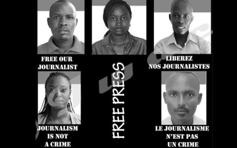 News website Iwacu has called for their reporters to be released after they were arrested on Tuesday,  22 October 2019. Picture: @iwacuinfo/Twitter