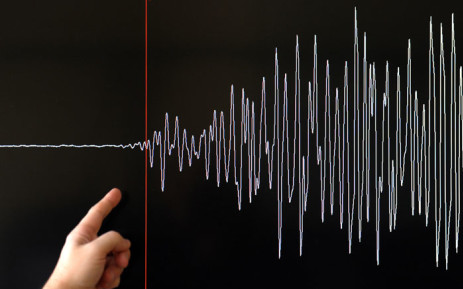 A seismograph measures seismic activity. Picture: AFP
