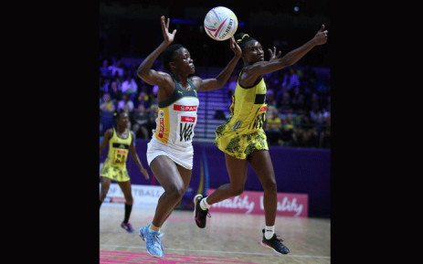 Spar Proteas vs Jamaica in the opening match of the Vitality Netball Nations Cup on 19 January 2020. Picture: Spar Proteas.