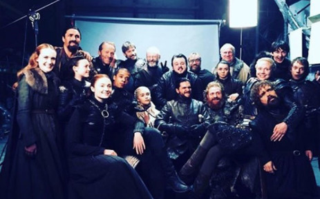 'Game of Thrones' cast members. Picture: @sophiet/instagram.com