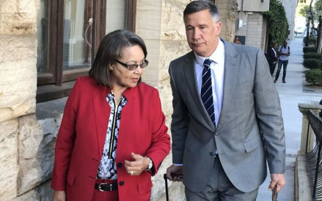 FILE: Cape Town Mayor Patricia de Lille arrives in Parliament for the first day of her disciplinary hearings on 20 March 2018. Picture: Kevin Brandt/EWN