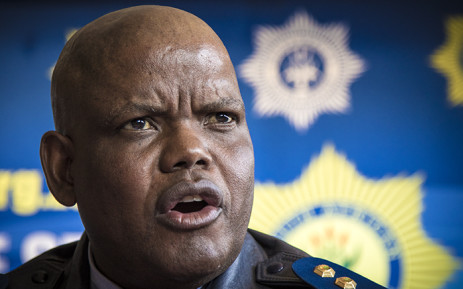 Acting National Police Commissioner Kgomotso Pahlane arrives in Vuwani for readiness briefing and addressed the media later. Picture: Thomas Holder/EWN.