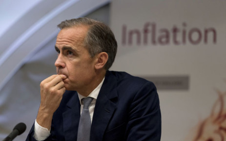 Governor of the Bank of England Mark Carney. Picture: AFP.