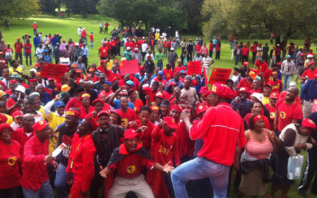 FILE: Members of the National Union of Metal Workers of South Africa (Numsa). Picture: EWN