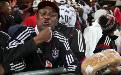 FILE: Orlando Pirates fans. Picture: Leeto M Khoza/EWN.