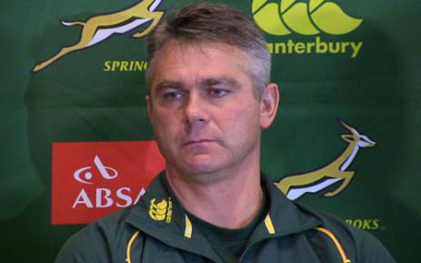 Springbok Coach Heyneke Meyer